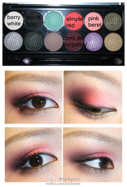 SLEEK PPQ me,myself & eye palette