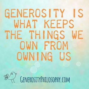 Image result for generosity