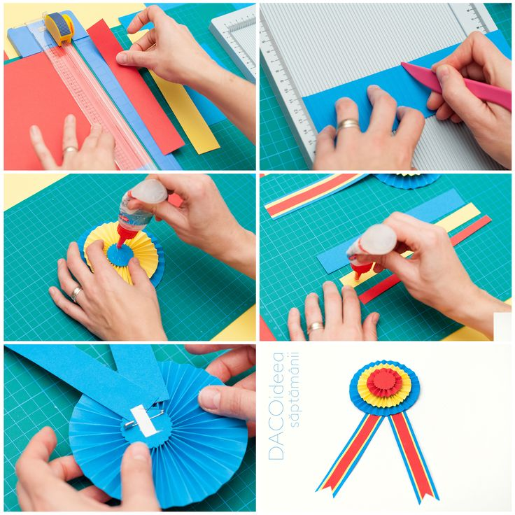 DACOideea săptămânii - Cocardă tricoloră. Materiale necesare: Hârtie colorată asortată, Perforator hobby magnetic, Placă biguire, Silipici, Trimmer A4, Bandă dublu adezivă, foarfecă grădiniță și ac de siguranță. TUTORIAL VIDEO: https://youtu.be/djg8PIAMCU4. Materialele sunt disponibile în magazinele noastre partenere și pe http://www.dacomag.ro.