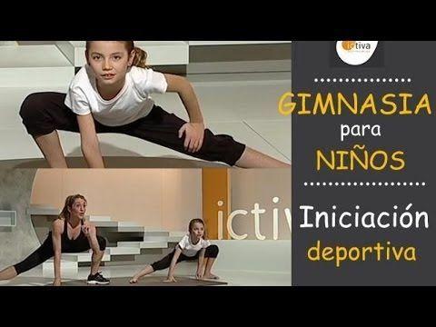 GIMNASIA PARA NIÑOS - Ejercicio físico en casa para niños - YouTube