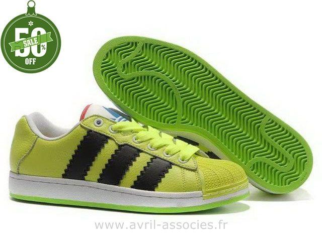 Boutique Adidas Hommes Ultra éToiles Collection Ufo Vert Noir (Sacoche Adidas Pas Cher)