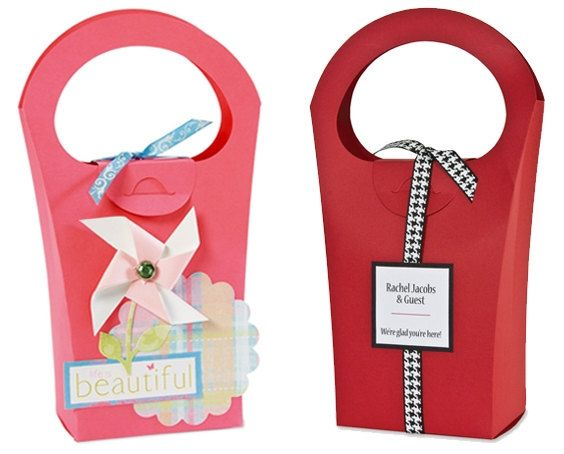 Gift Box Template in SVG MTC JPGeps Pdf File by MartaZylaDesign, $5.00