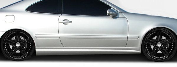 Duraflex 98-02 Mercedes CLK W208 C63 Look Side Skirts Rocker Panels