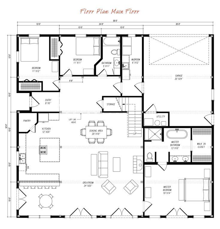 Best 25 pole barn house kits ideas on pinterest barn for Pre designed home plans