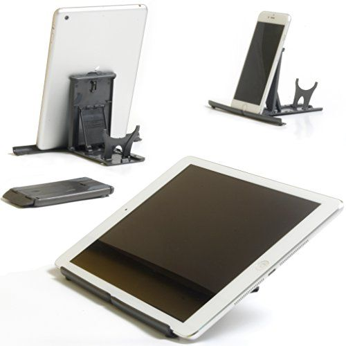 Plinth - the best multi-angle universal portable pocket tablet desk stand for Apple iPad Pro/Air/Mini, iPhone 6s/6/5/4, Samsung Galaxy Tab, Samsung Galaxy S6 S5 S4, Note 5/4/3/2, E-readers and Smartphones Plinth http://www.amazon.co.uk/dp/B00PHD4T1Q/ref=cm_sw_r_pi_dp_DH3Jwb17GPENX