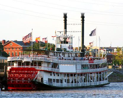 Take a tour down the Mississippi River out of New Orleans.