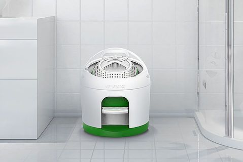 yirego's drumi - foot powered washing machine, 2017 release