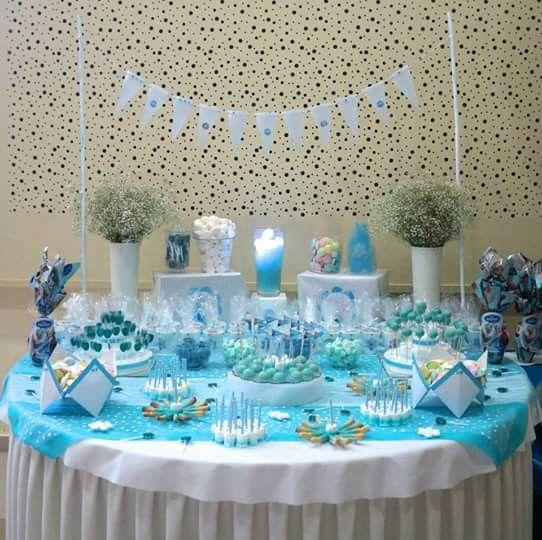 mesa dulce frozen candy bar reine des neiges miam miam reposteria francesa chiclana. Black Bedroom Furniture Sets. Home Design Ideas