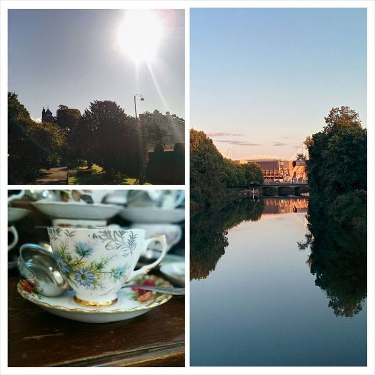 Dainty afternoon tea at Pettigrew Tea Rooms, Cardiff.