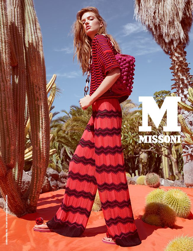 #MMissoni | Advertising Campaign | Spring Summer 2015