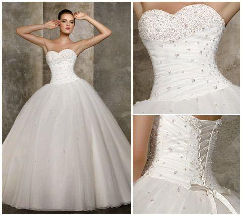 Nos locations robe de mariée Lorraine - www.mariagefeerique.fr