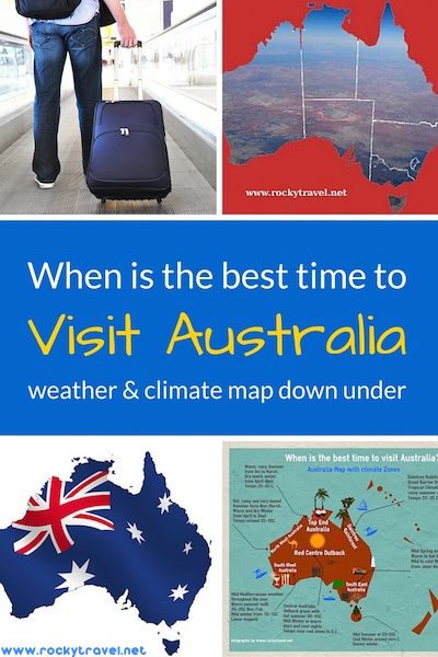 When is the best time to visit Australia? A complete guide about weather and climate zones In Oz to help you choose your travel itinerary.