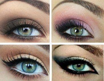 Zelené líčenie oči: 6 rýchlych návodov na make up