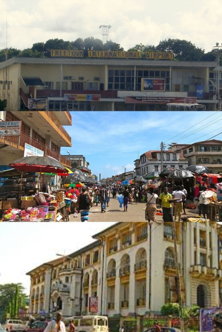 SIERRA LEONE Ascension Island Capital & Major Cities