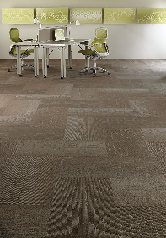 Carpet Tile Shaw Contract Laser Cut 95103 18x36