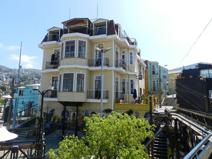 En los Cerros de Valparaiso