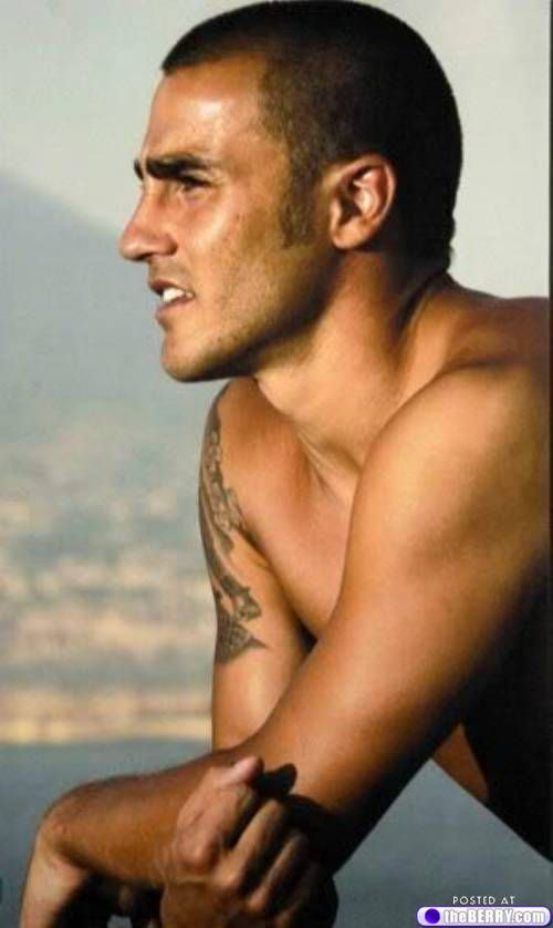 Fabio Cannavaro. Our wedding will happen, you just don't know it yet!