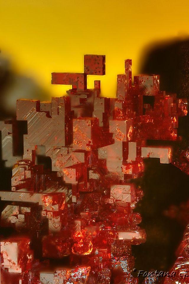 Uniquely shaped Cuprite  Ray Mine, Arizona  (In secret I call it the jello stone)