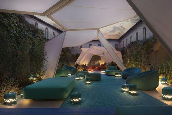 lounge gartenmöbel set von paola lenti entworfen | exterioridea,