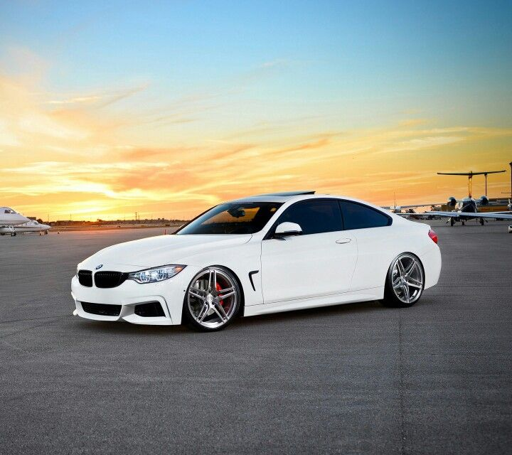 BMW F32 4 series white
