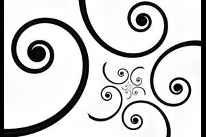 an alternative new zealand flag design idea that comprises of a striking black koru pattern on a white background pinterest ideas flags and galleries - Flag Design Ideas