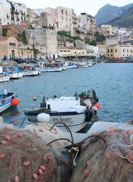Castellamare del Golfo is our home base for 3 nights on this tour. #Sicily