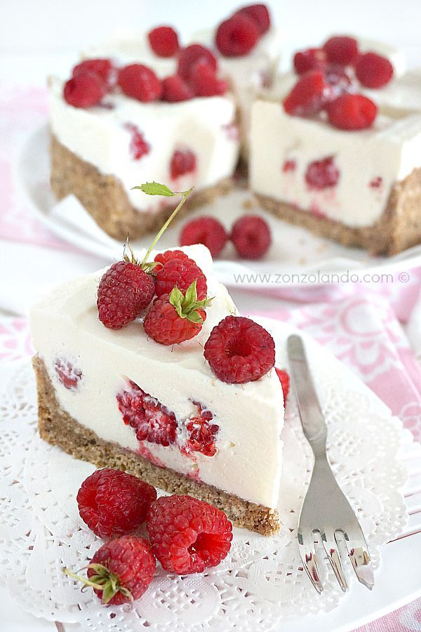 Cheesecake al mascarpone e lamponi - Mascarpone and raspberry cheesecake | From Zonzolando.com