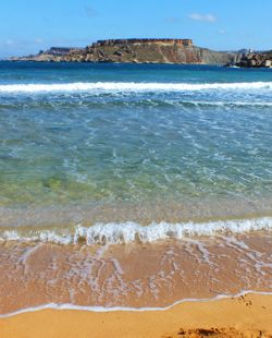 Gnejna Bay #Malta. One of the prettiest beaches on the island. We could spend all #summer here :)