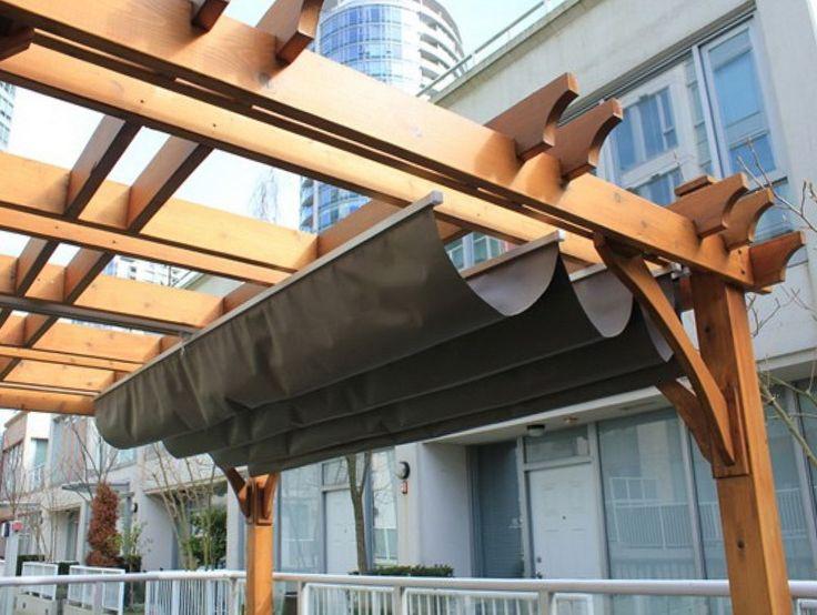Les 25 meilleures id es de la cat gorie couverture de pergola sur pinterest patio pergola - Couverture pergola canisse ...