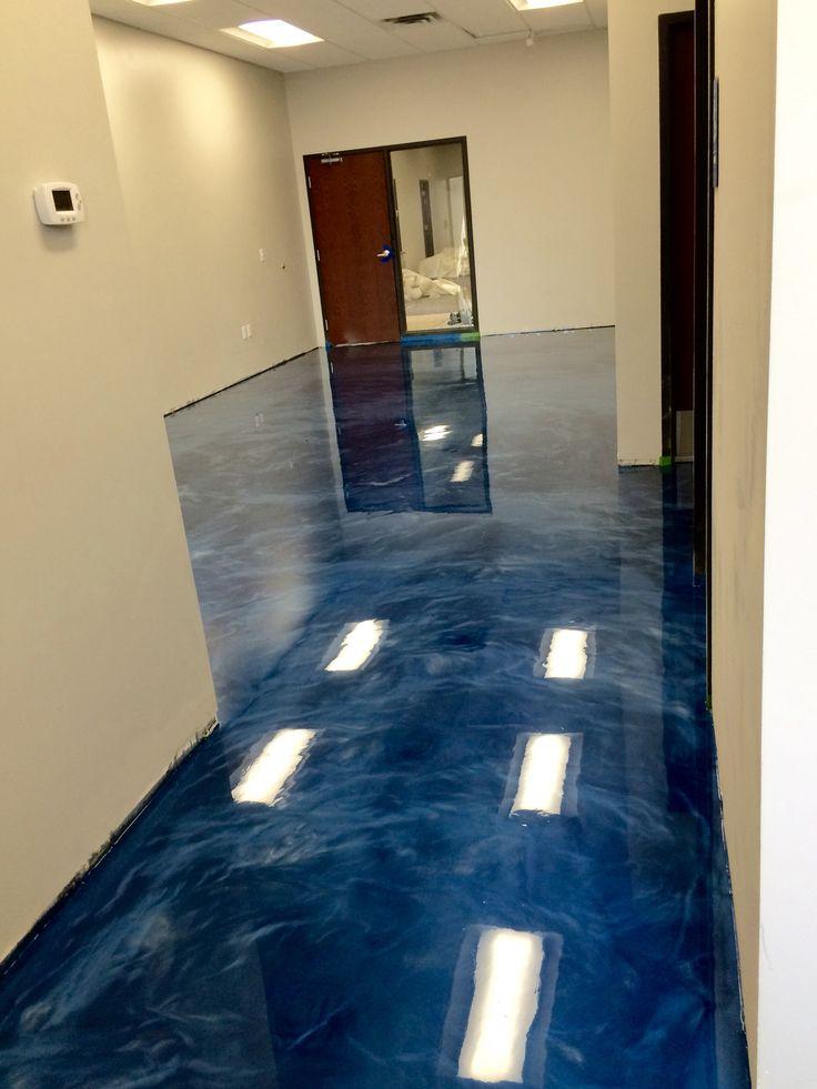 Metallic Epoxy Floor Coating By Sierra Concrete Arts In