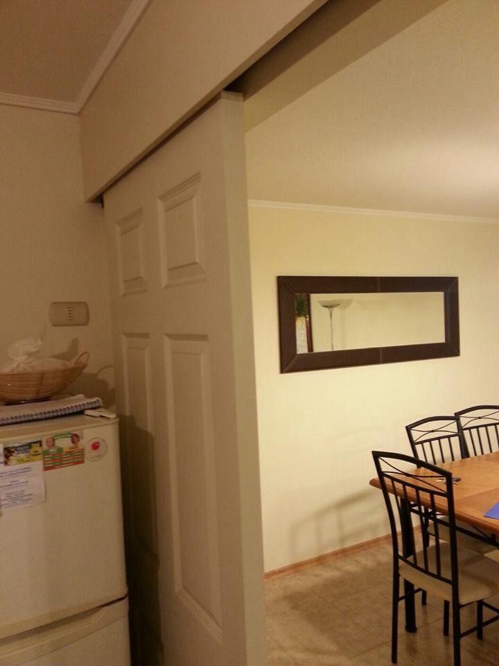 Puerta corrediza para cocina
