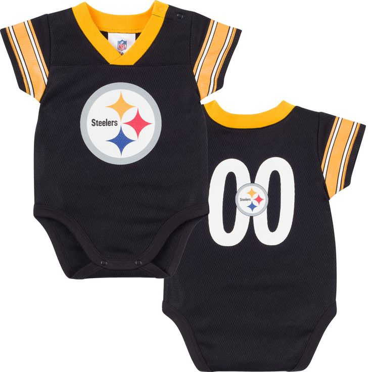 365ec0b8a ... where to buy nfl pittsburgh steelers dazzle mesh v neck bodysuit months  blackyellow shaun suisham jersey