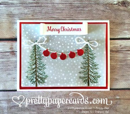 Snowy Branches! - Pretty Paper Cards