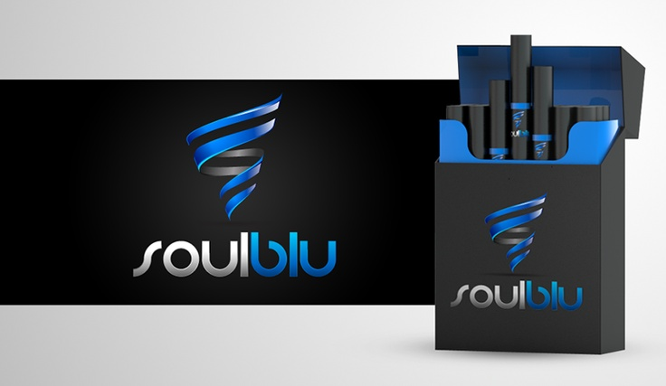 soulblu logo design