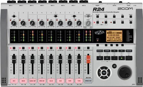 Equipo grabador digital multipistas ZOOM R24. El mejor precio sólo en http://www.audiotronics.es/product.aspx?productid=138169
