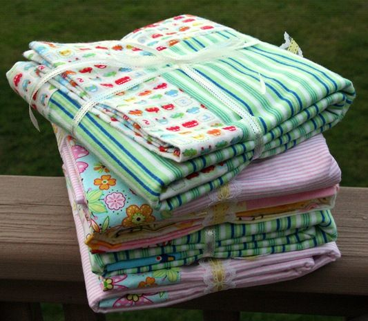 Baby Receiving Blankets... I NEED A TON OF THESE!!!