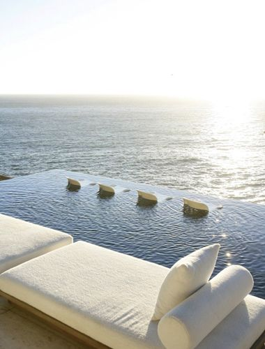 Infinity pool on the #beach. Nirvana in #SouthAfrica http://VIPsAccess.com/luxury-hotels-caribbean.html