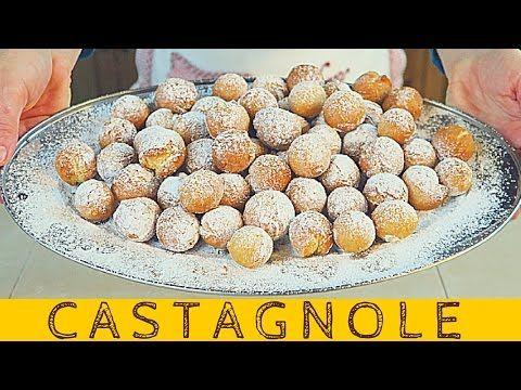 CASTAGNOLE DI CARNEVALE FATTO IN CASA DA BENEDETTA