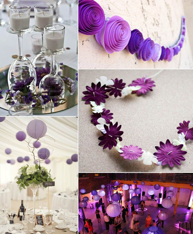 Wedding Ideas On A Budget Paper Lanterns Are An Inexpensive Alternative To Hiring Chandeliers Or Party Decor Pinterest Purple