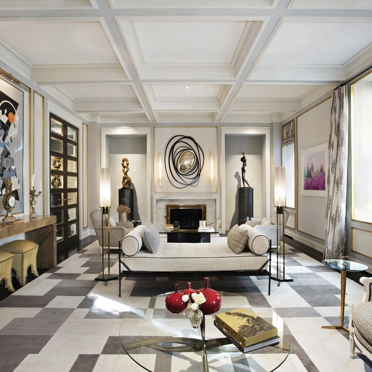 Living Room Projects By Jean Louis Deniot Modern LuxuryLuxury