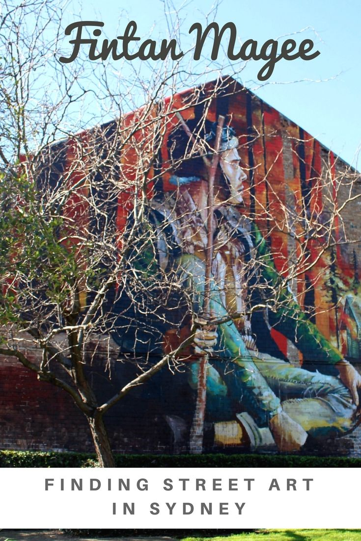 I am a big fan of large scale murals and FIntan Magee does beautiful work. This is a list of 20 of his works in Sydney Australia