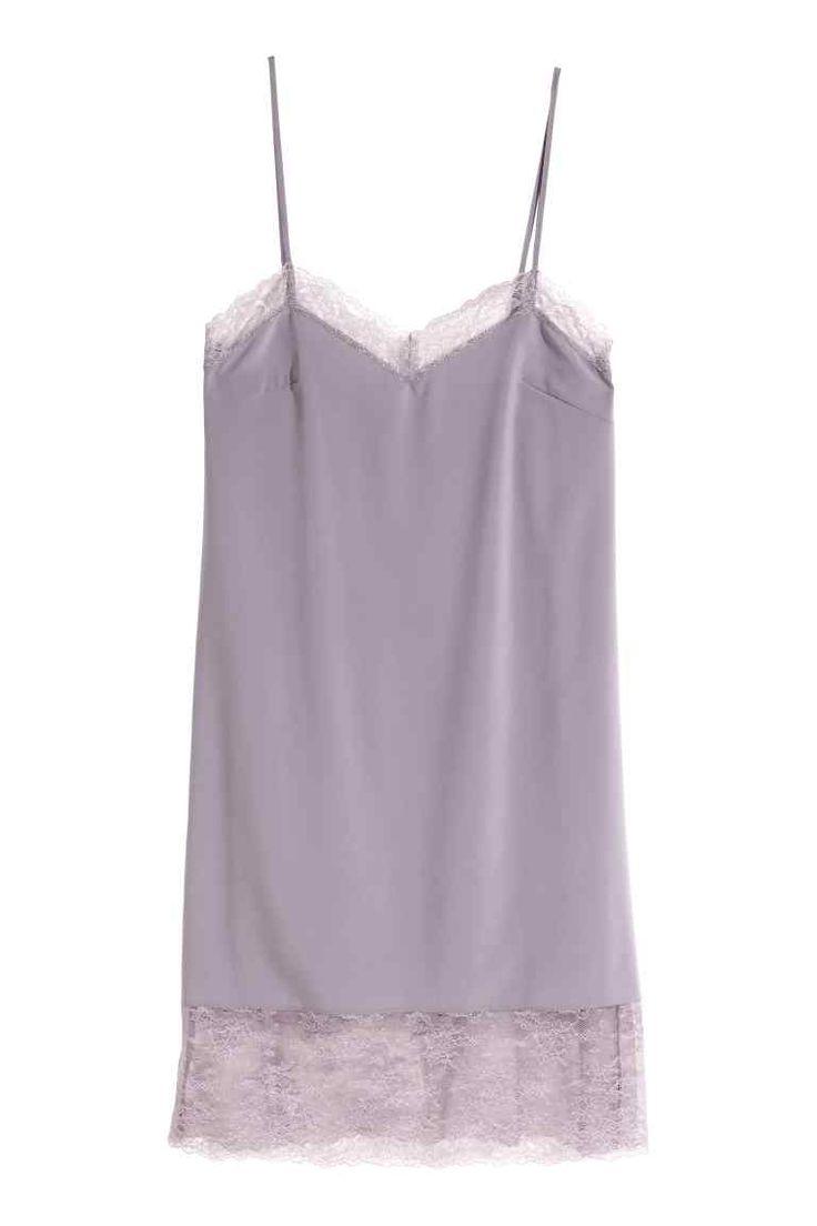 Camisa de noite com renda | H&M