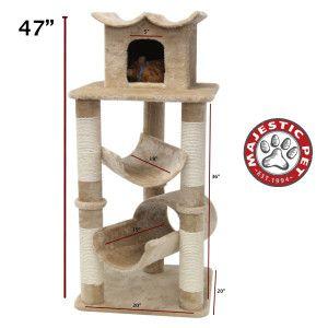 FUR By Majestic Pet Products Casita Cat Tree - PetSmart