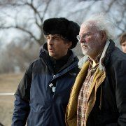 Bruce Dern and Alexander Payne in Nebraska (2013)