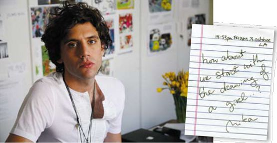 omg i'don't think i've seen this pic of Mika before, or not very often anyway. - Observer Music Monthly - June 12 2009