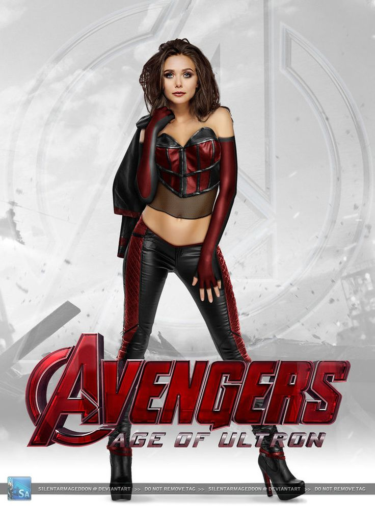 age of ultron scarlet witch | Avengers - Age of Ultron: Scarlet Witch by SilentArmageddon