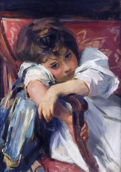 Portrait of a Child by John Singer Sargent | Art Posters & Prints