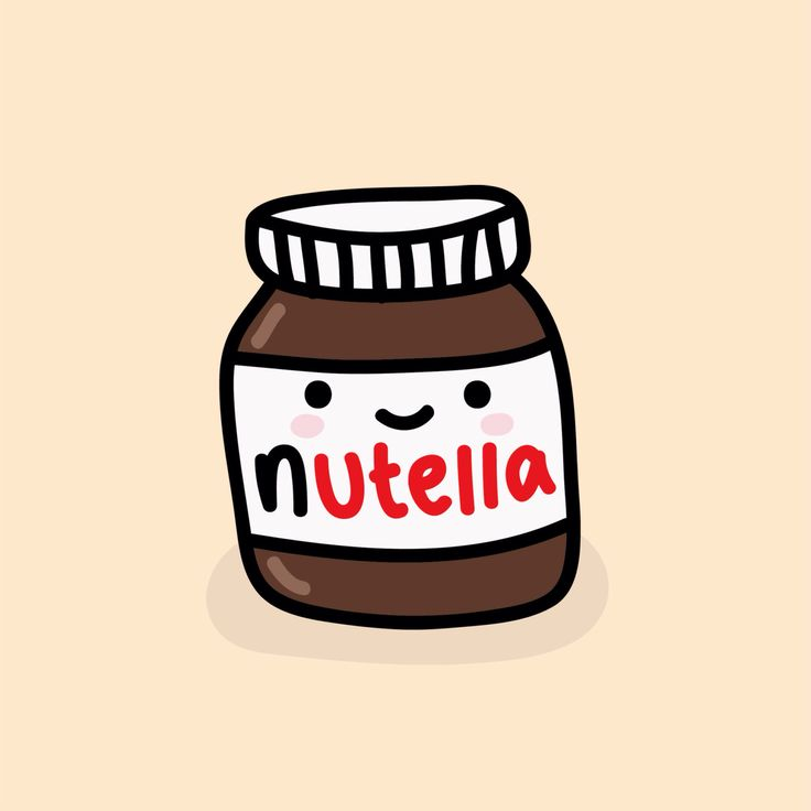 doodles nutella kawaii drawings