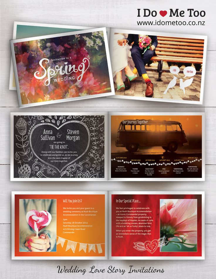 Bohemian Chic Wedding Invitation Style - Create your very own Love Story invitation in Black and White with I Do - Me Too Wedding Invitations. Each 8-page invitation is fully customisable to express your unique identity as a couple. Check inside this invitation now and imagine your own love story at http://www.idometoo.co.nz/bohemian-spring-wedding-invitation.html   #weddingstationery #weddinginvites #invitation #weddinginspiration