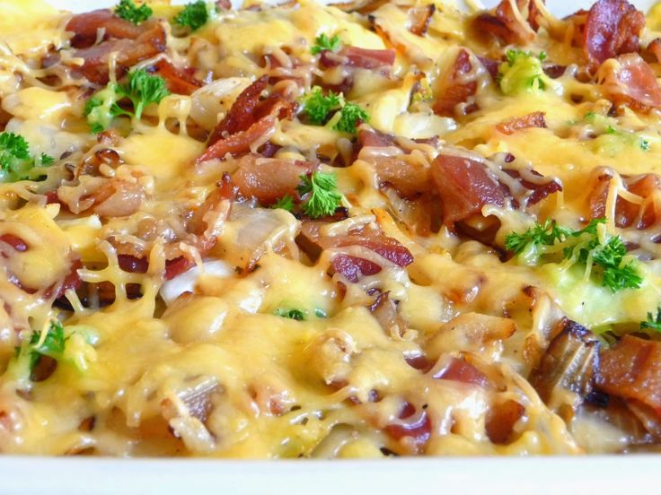 SMOKED GOUDA CABBAGE AND BACON